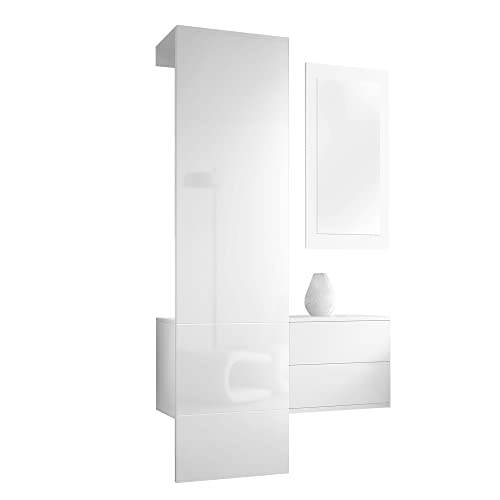 wei wandgarderoben paneele und weitere garderoben g nstig online kaufen bei m bel garten. Black Bedroom Furniture Sets. Home Design Ideas