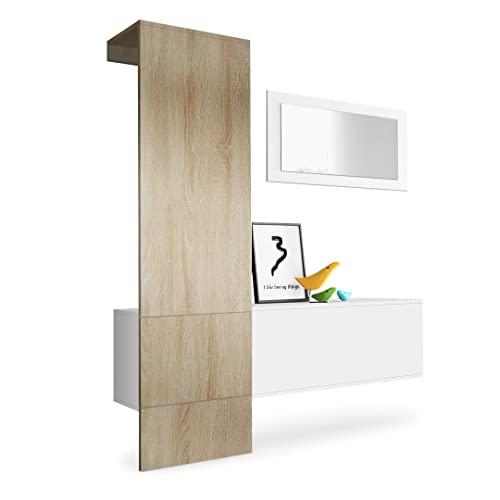 wandgarderoben paneele und andere garderoben von vladon. Black Bedroom Furniture Sets. Home Design Ideas