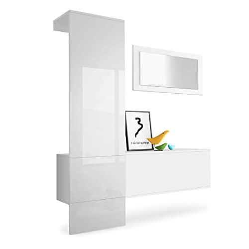 wandgarderoben paneele und andere garderoben von vladon online kaufen bei m bel garten. Black Bedroom Furniture Sets. Home Design Ideas