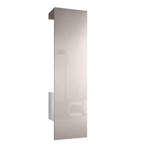 Wandgarderoben paneele und andere garderoben von vladon for Wandgarderobe set