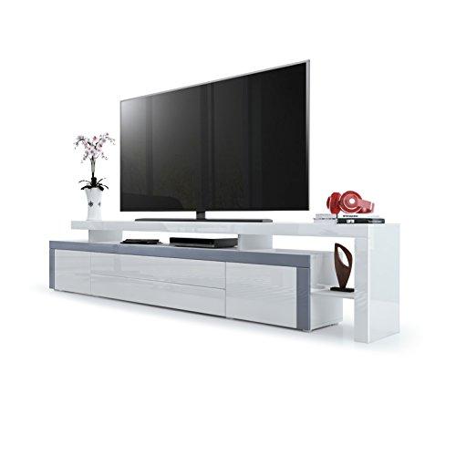 grau hochglanz lowboards und weitere lowboards g nstig online kaufen bei m bel garten. Black Bedroom Furniture Sets. Home Design Ideas