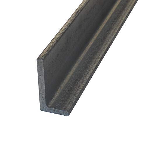 Aluminium Winkel Winkelprofil Aluprofil ungleichschenklig Abmessung 80 x 40 x 4 L/änge 2000 mm Oberfl/äche blank gezogen
