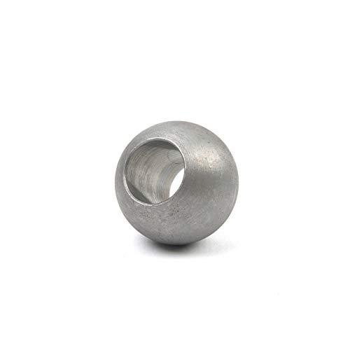 Stahlkugel Eisenkugel Eisen Maß Ø 200 mm glatt Stahl S235JR roh Halbhohlkugel