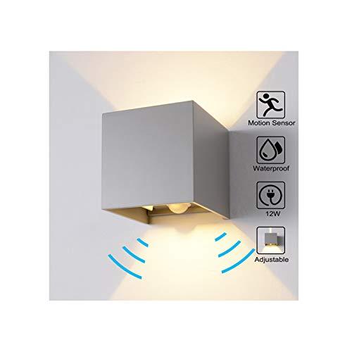 Top Grau | Außenbeleuchtung mit Bewegungsmelder und weitere CK12