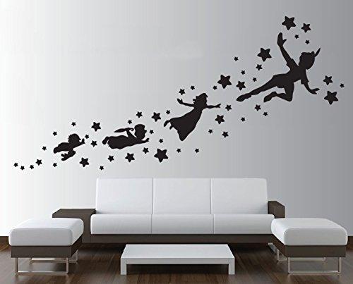 Resultado de imagem para peter pan wall stickers