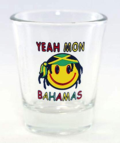 Bahamas Yeah Mon Schnapsglas von World By Shotglass