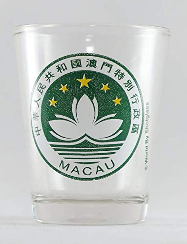 Macau State Emblem Schnapsglas von World By Shotglass
