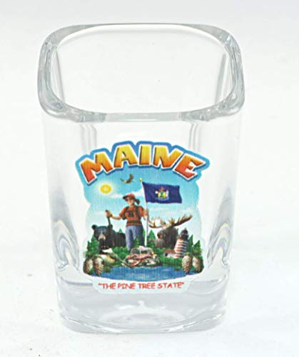 Maine-Verre à shooter Montage d'État von World By Shotglass