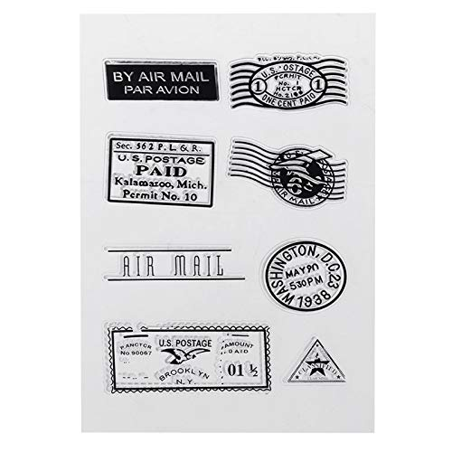 WuLi77 stamp Silicone Clear Silicone Clear Stamps for Card Making Stencils DIY Embossing Photo Album Craft Art Handmade Gift Scrapbooking von WuLi77