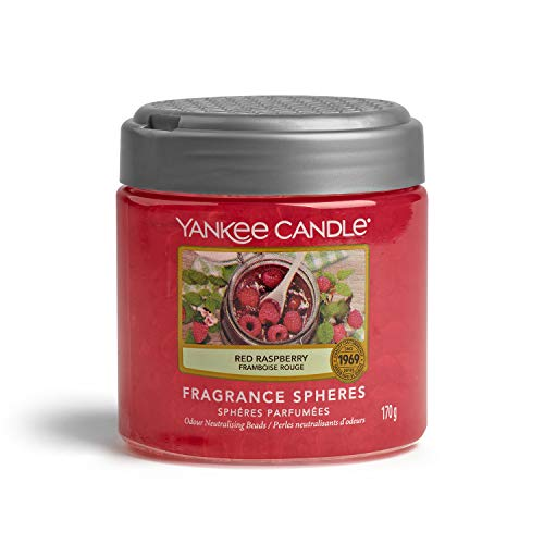 Yankee Candle Fragrance Spheres, Red Raspberry, rot von Yankee Candle