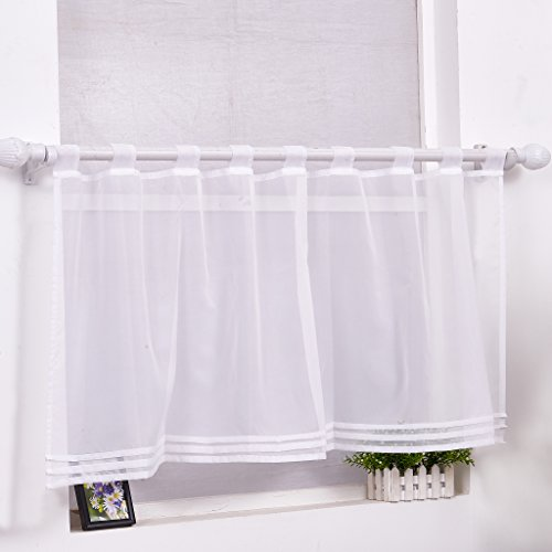 wei transparente gardinen vorh nge und weitere. Black Bedroom Furniture Sets. Home Design Ideas