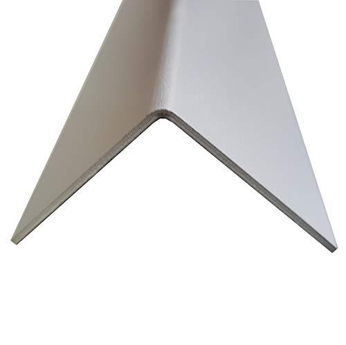 Riffelblech Winkel 50x50mm x 2000mm 1,5//2,0 mm Duett Kantenschutz Winkel Leisten