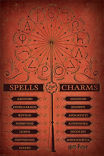 empireposter 763693, Harry Potter Spells & Charms Plakat von empireposter