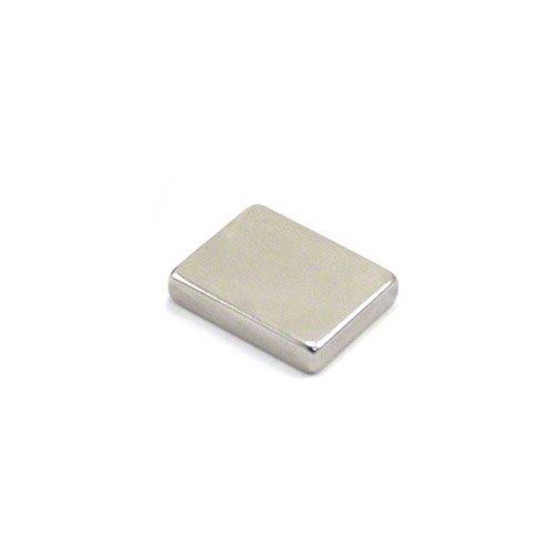 first4magnets 26/x 23/x 6,3/mm dicken Ferrit Kanal Magnet mit 3/mm Bohrung und mit 5/kg Pull