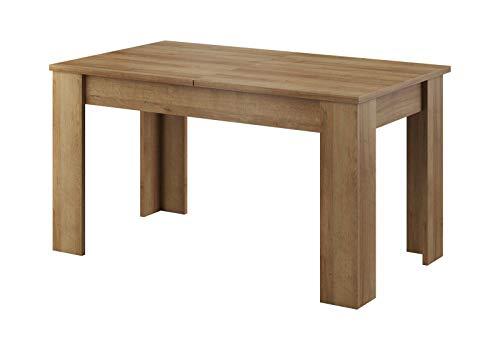 Holz ausziehbare esstische und weitere esstische for Design esstisch expo weiss ausziehbar 137 180 cm