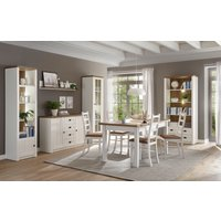 Home affaire Wohnwand Beauvais, (Set, 4 tlg.), im Landhausstil von home affaire