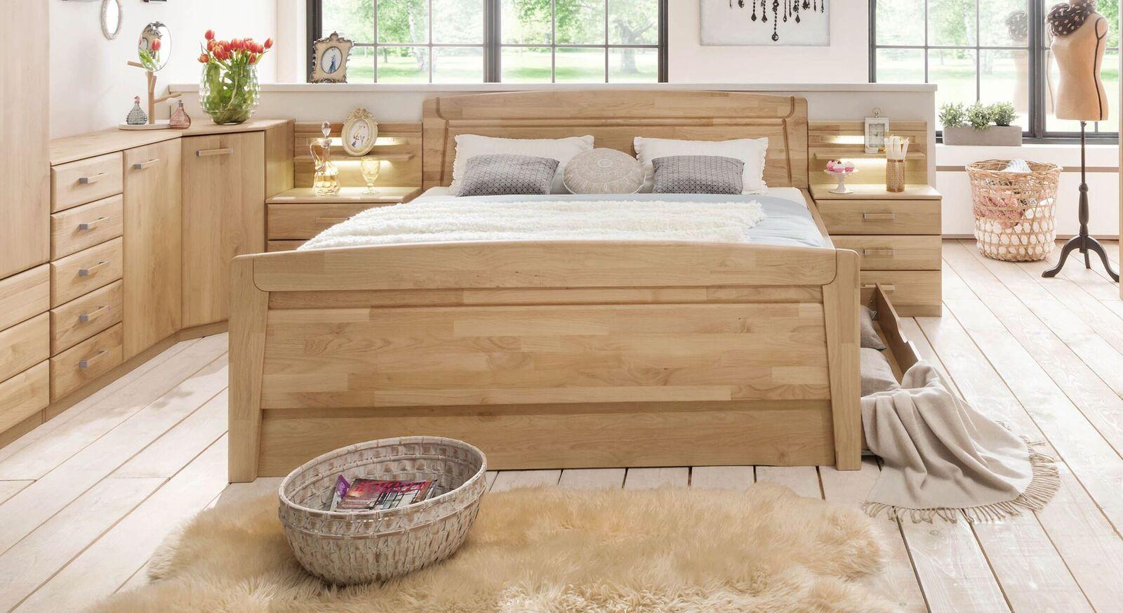 doppelbetten mit bettkasten und weitere doppelbetten. Black Bedroom Furniture Sets. Home Design Ideas