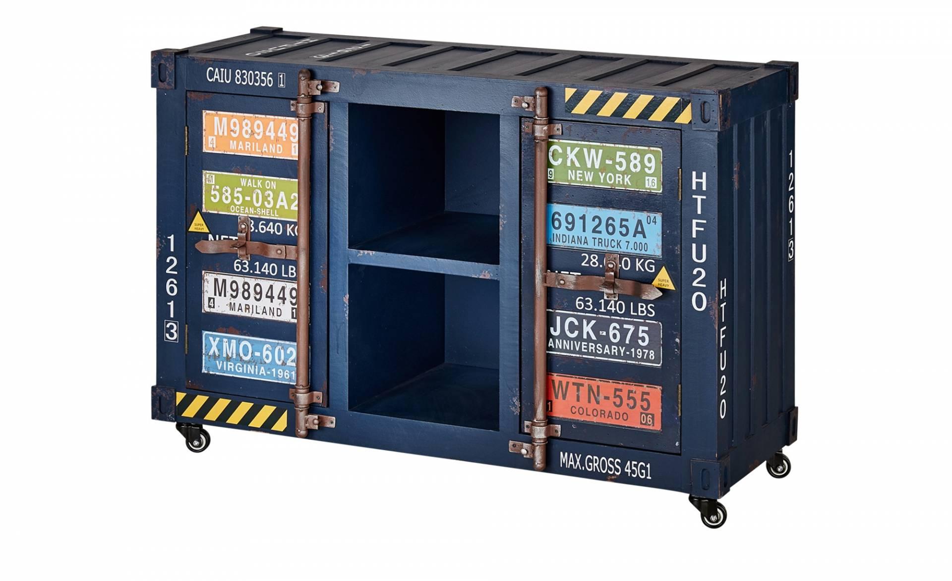 blau sideboards und weitere kommoden sideboards. Black Bedroom Furniture Sets. Home Design Ideas