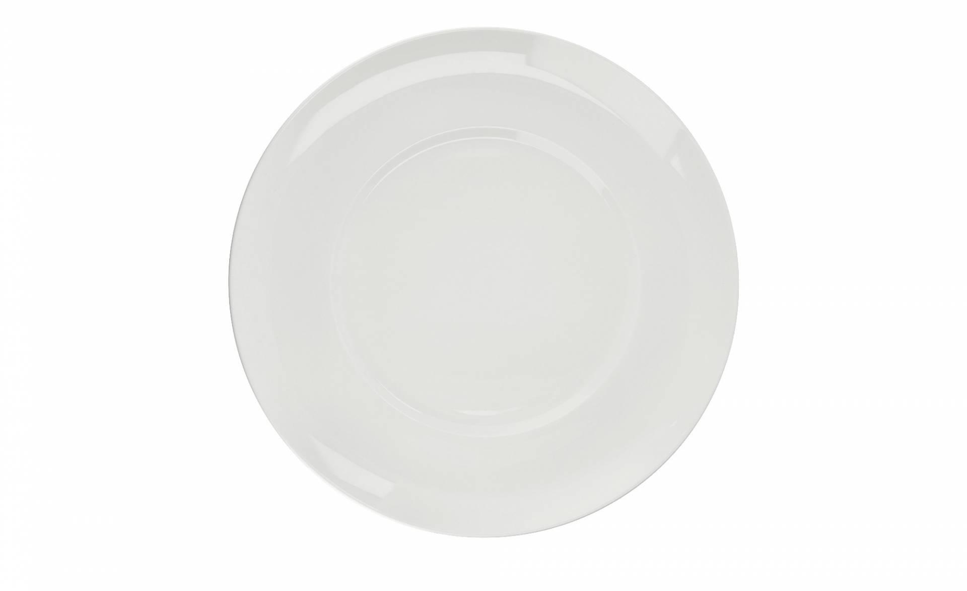 K/ütahya Porselen blau Pizzateller Premium Porzellan /Ø 28 cm