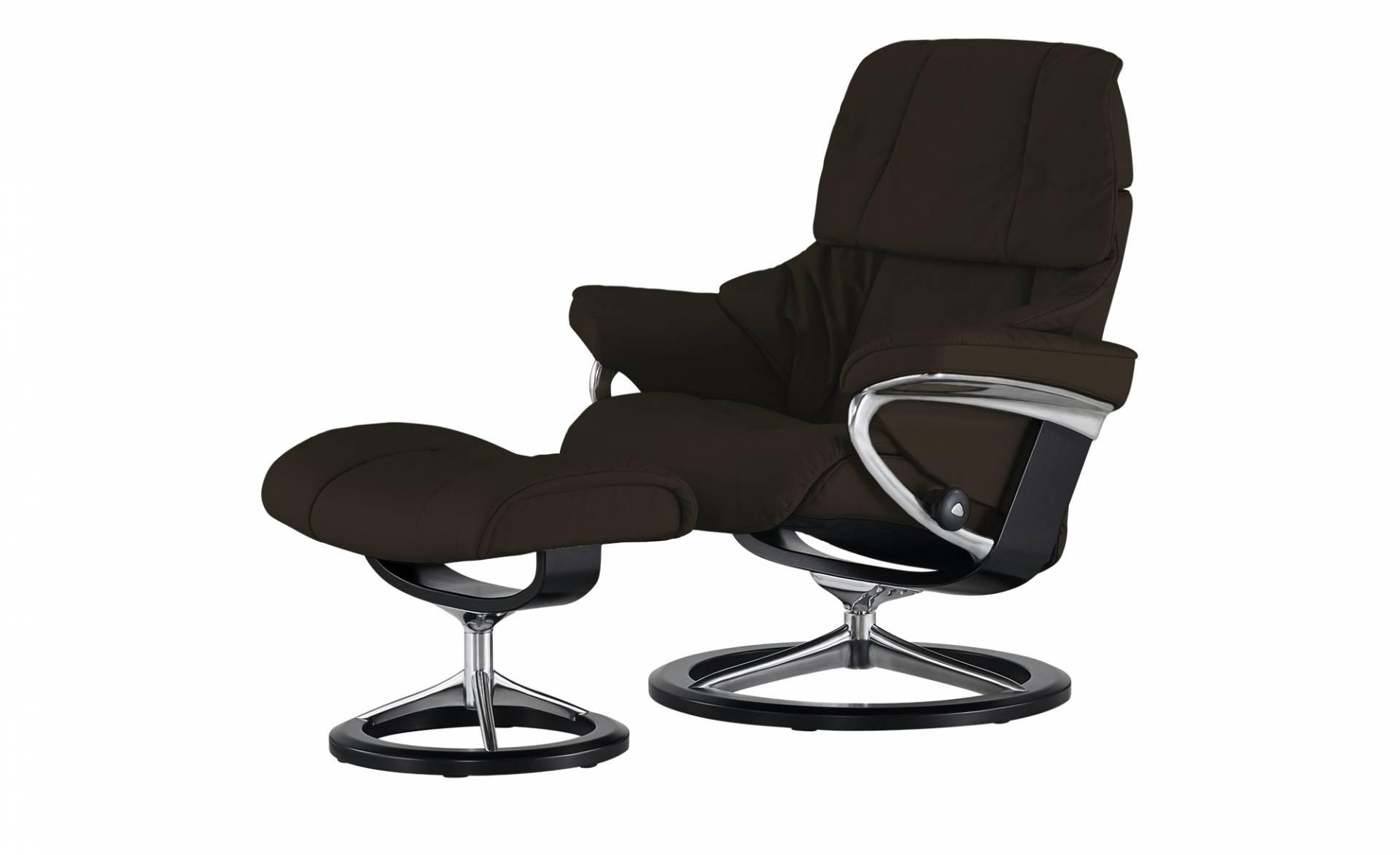 braun lederhocker und weitere hocker g nstig online kaufen bei m bel garten. Black Bedroom Furniture Sets. Home Design Ideas