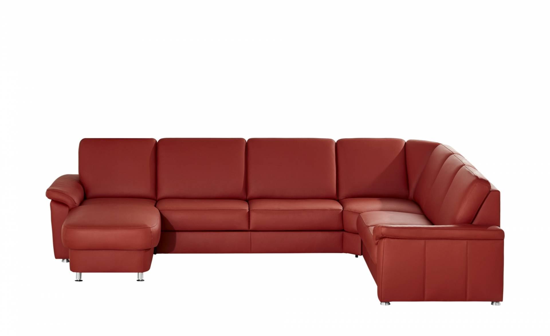 rot wohnlandschaften aus leder und weitere ledersofas. Black Bedroom Furniture Sets. Home Design Ideas