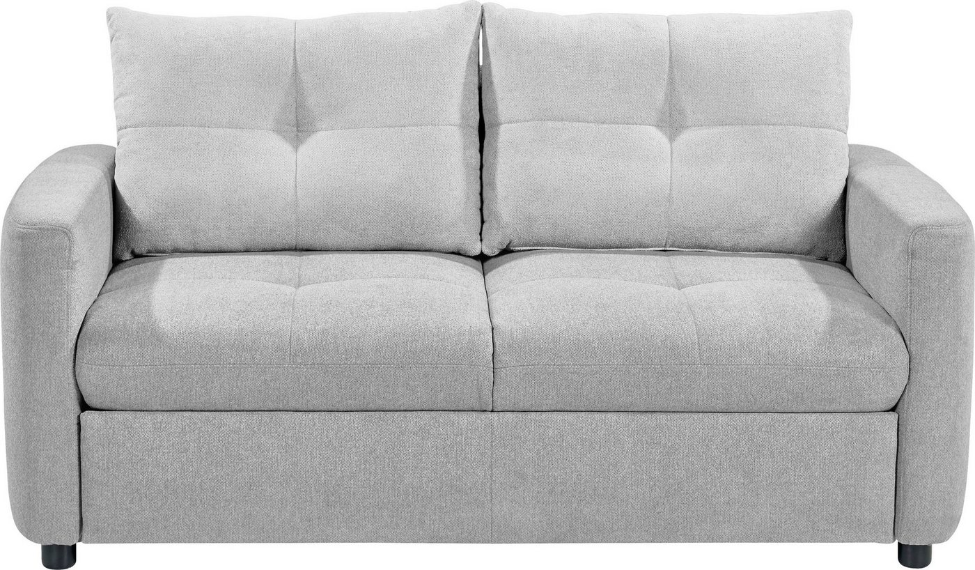 set one by Musterring Sofa »SO 4200«, 2 Sitzer, wahlweise mit Bettfunktion, Federkern oder Boxspringfederung von set one by Musterring