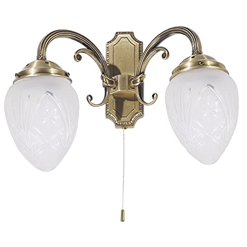 gold wandlampen mit schalter und weitere wandbeleuchtung g nstig online kaufen bei m bel. Black Bedroom Furniture Sets. Home Design Ideas