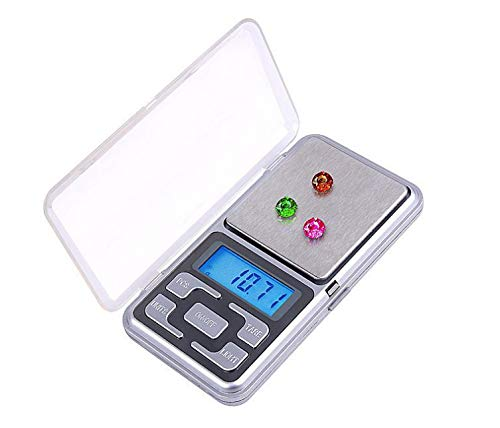 mixed24 200g / 0.01g Mini Digital Feinwaage Waage Taschenwaage Briefwaage Goldwaage Küchenwaage von mixed24