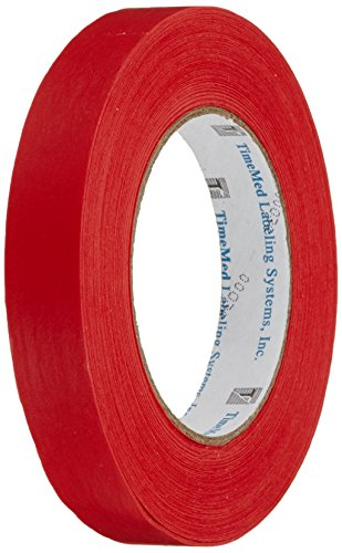 neoLab 2-6144 neoTape-Beschriftungsband, 19 mm, 55 m lang, Rot von neoLab