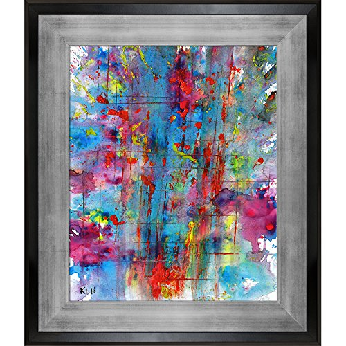 overstockArt Artist Abe Phoenix is Rising Series 1818022514 by Kris Haas Print On Canvas with Gold Laminose Frame