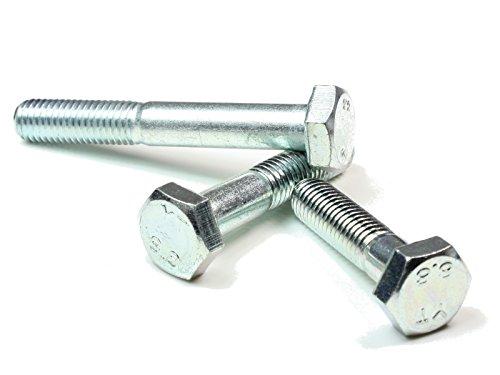DIN933 PROFI 6kt VGW G70 A2 EDS M6 x 18 DIN 933 // ISO 4017 PROFI Sechskant Schraube Vollgewinde G/üte 70 V2A Edelstahl rostfrei 80 Stck