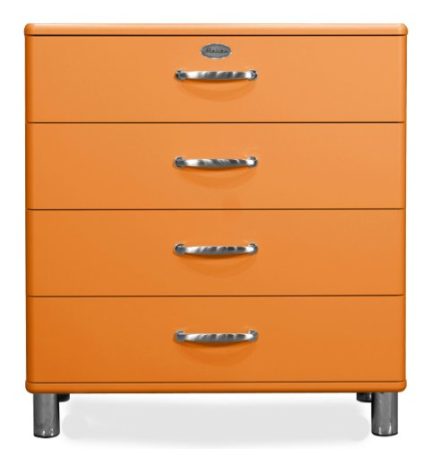 orange kommoden und weitere kommoden sideboards. Black Bedroom Furniture Sets. Home Design Ideas