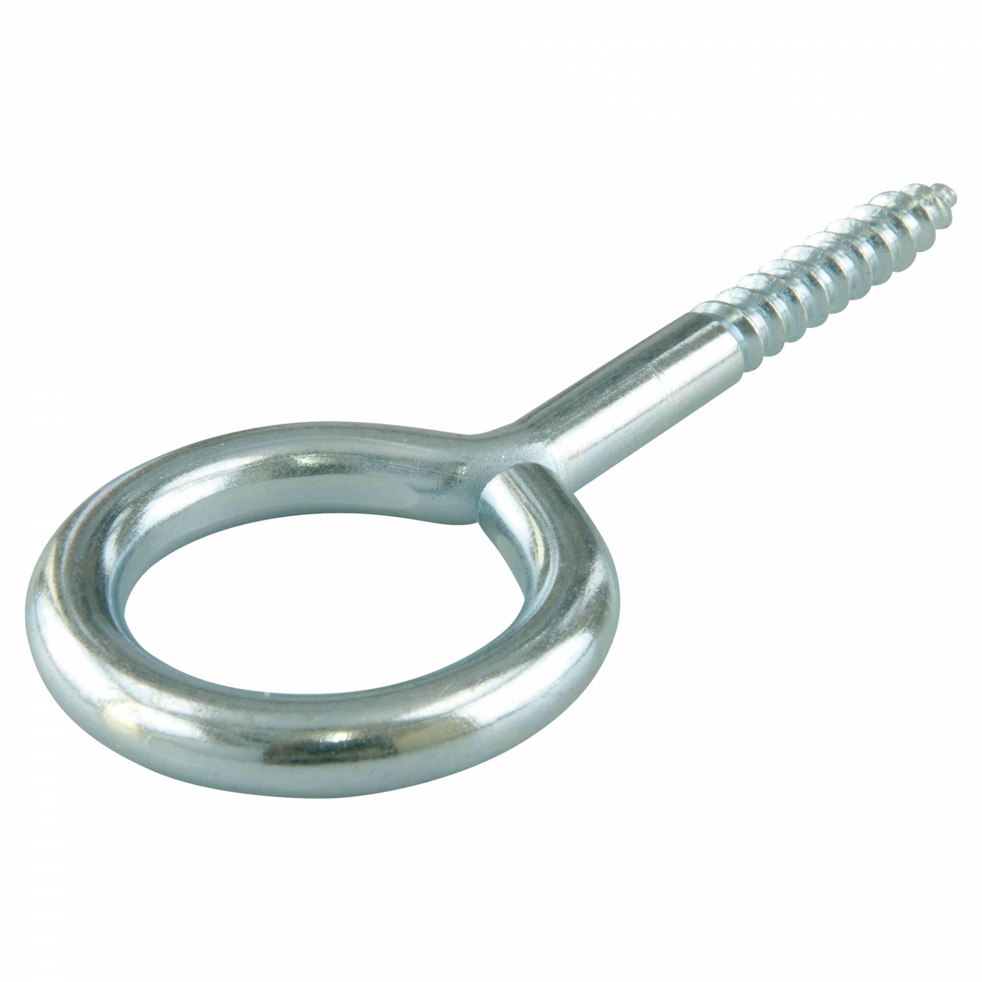 - aus Edelstahl A2 V2A - Ringschrauben - 25 St/ück 4,4 x 40 mm - SC-Normteile/® /Ösenschrauben mit Holzgewinde Gewindel/änge: 25 mm SC9079